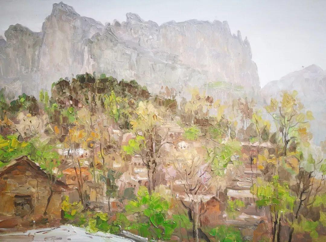 山水画般的诗意——张洪油画作品欣赏插图55