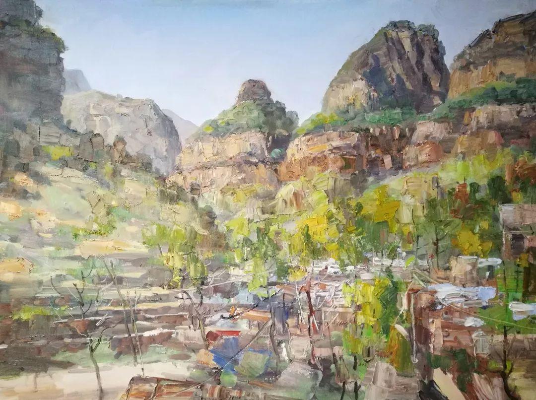 山水画般的诗意——张洪油画作品欣赏插图57
