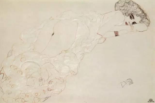 价值10亿,女性妖娆的线条——克里姆特插图175