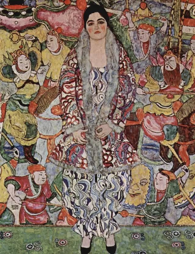 价值10亿,女性妖娆的线条——克里姆特插图201
