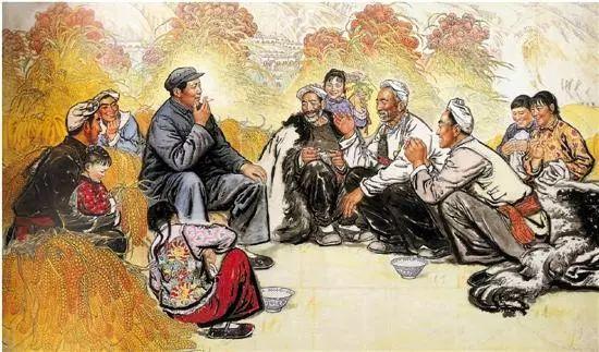 缅怀刘文西,他的画被印在人民币上插图5