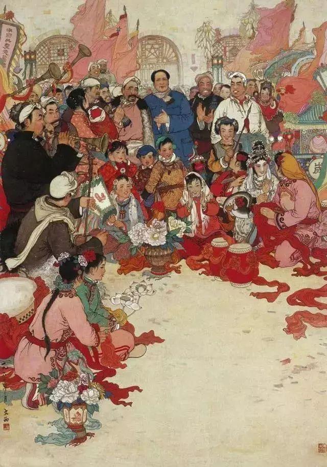 缅怀刘文西,他的画被印在人民币上插图7