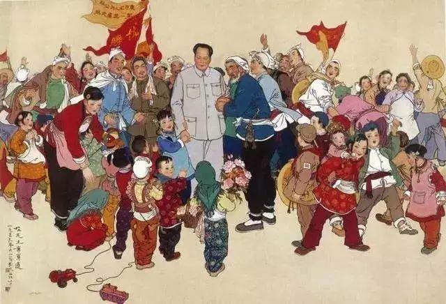缅怀刘文西,他的画被印在人民币上插图9
