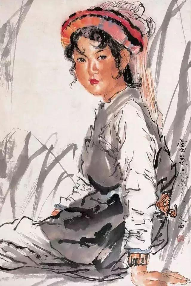 缅怀刘文西,他的画被印在人民币上插图49