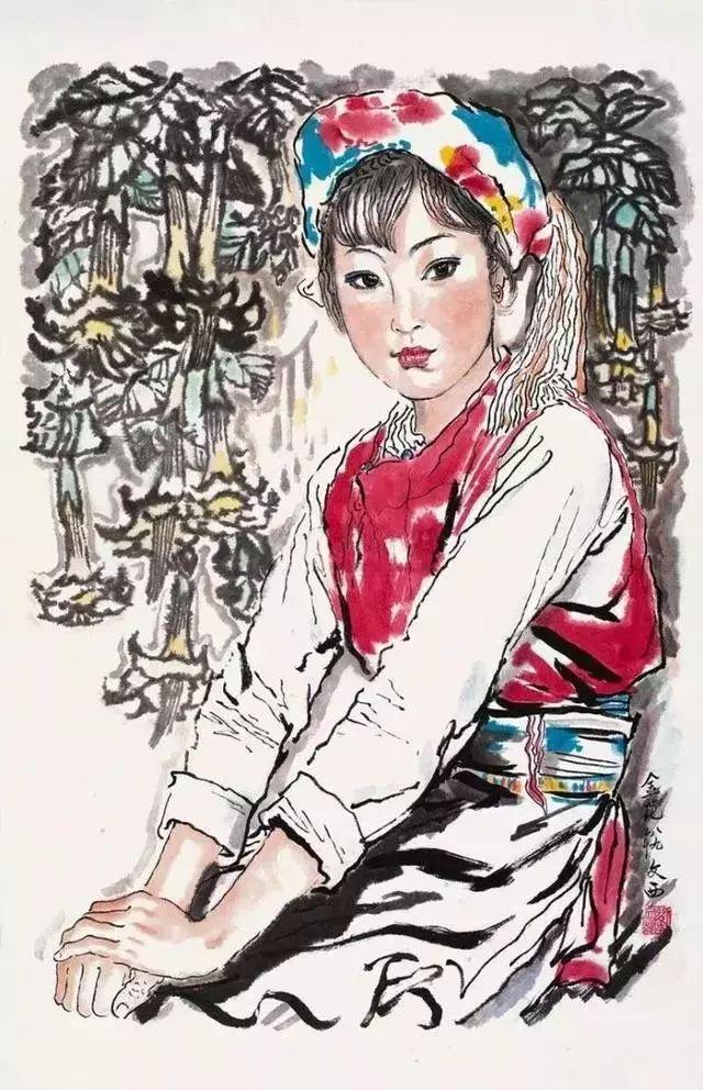 缅怀刘文西,他的画被印在人民币上插图53