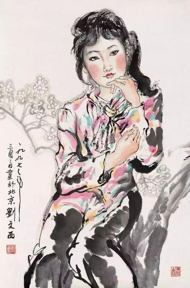 缅怀刘文西,他的画被印在人民币上插图55