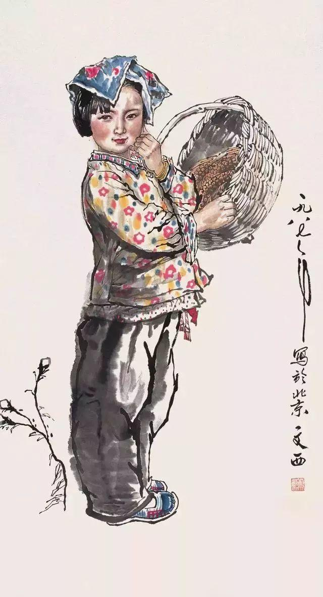 缅怀刘文西,他的画被印在人民币上插图59