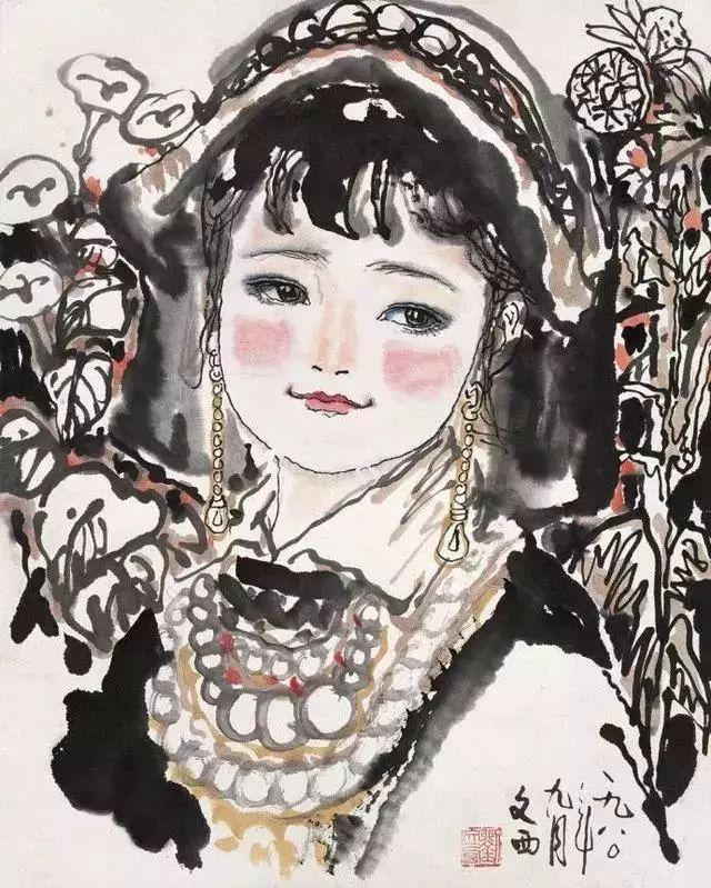 缅怀刘文西,他的画被印在人民币上插图61