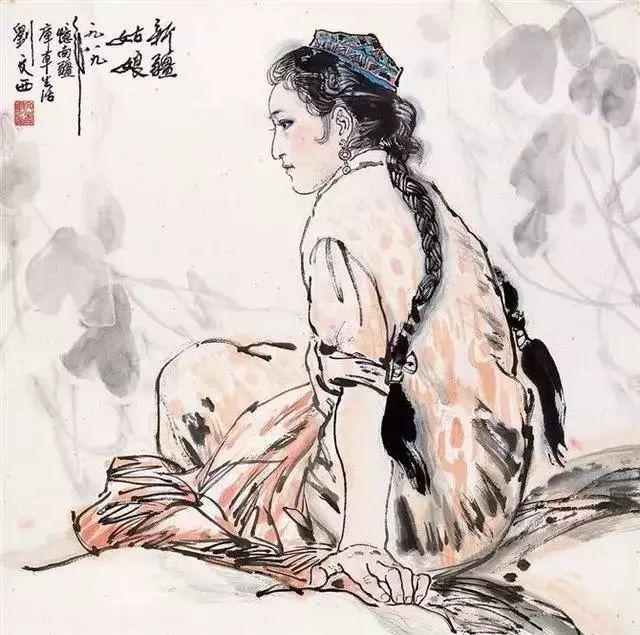 缅怀刘文西,他的画被印在人民币上插图63