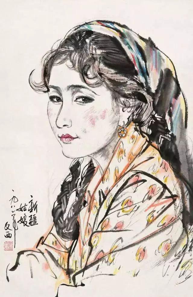 缅怀刘文西,他的画被印在人民币上插图67