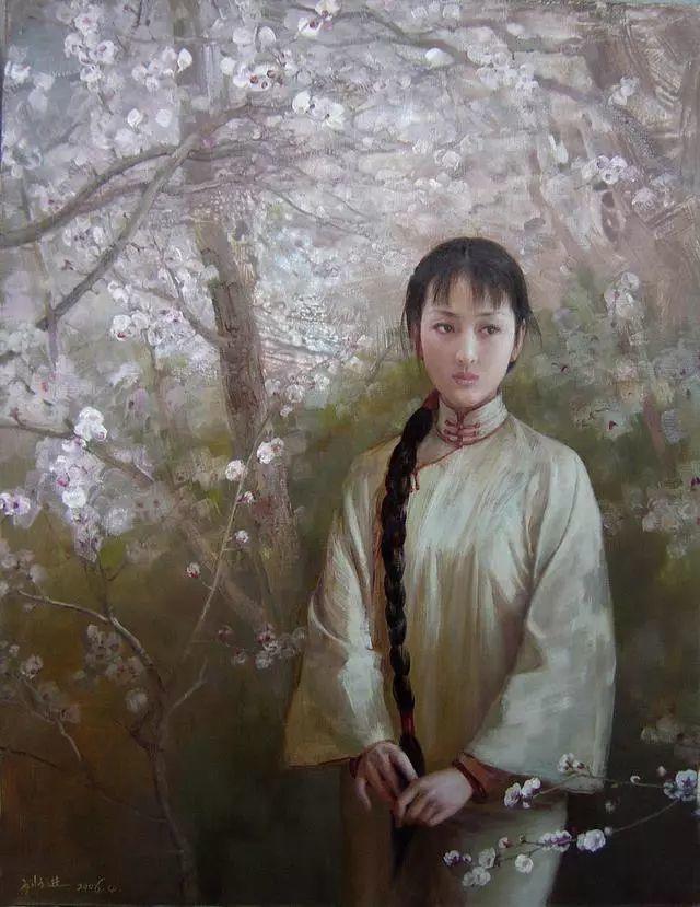 刘文进油画人物欣赏插图9