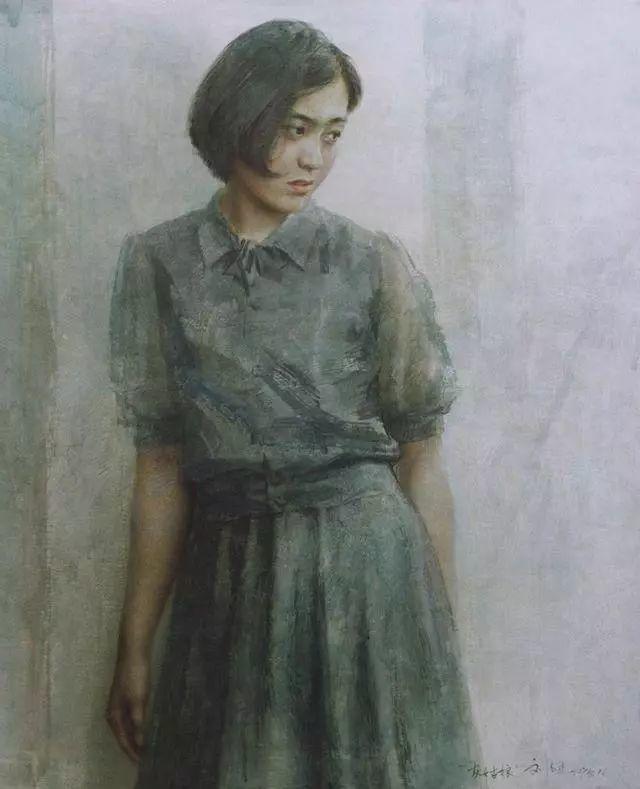 刘文进油画人物欣赏插图13