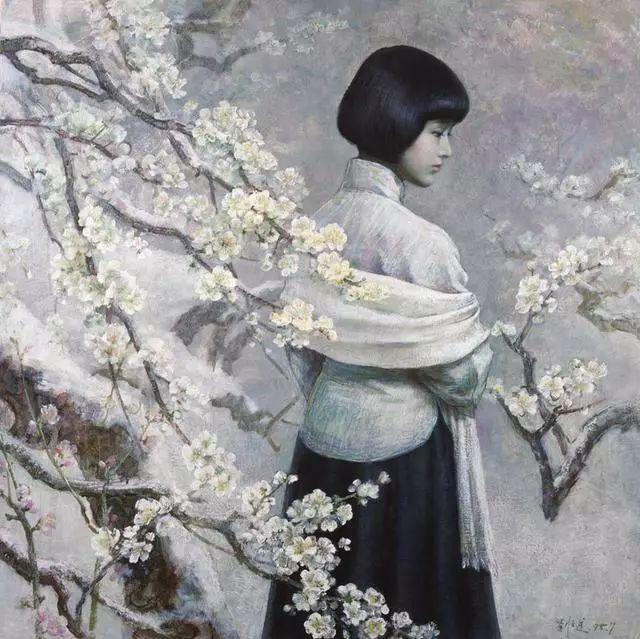 刘文进油画人物欣赏插图19