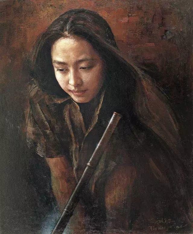 刘文进油画人物欣赏插图29