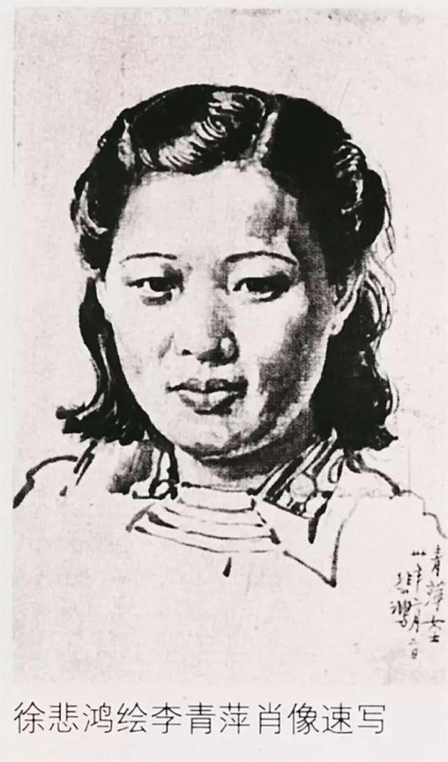 她曾是民国画家六美之一 徐悲鸿与她亦师亦友插图19