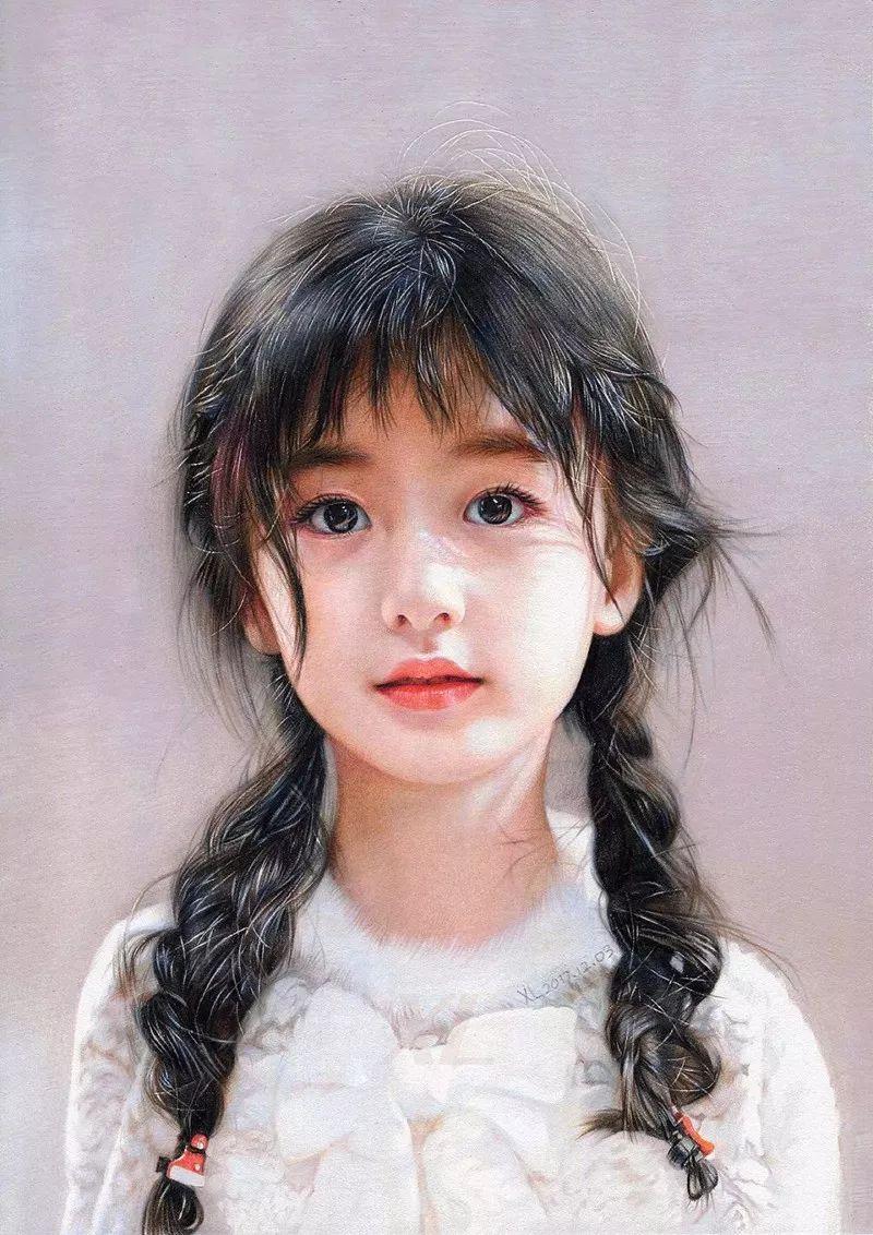 清华才子晒出他画中的小美女,惊艳了四方!插图1
