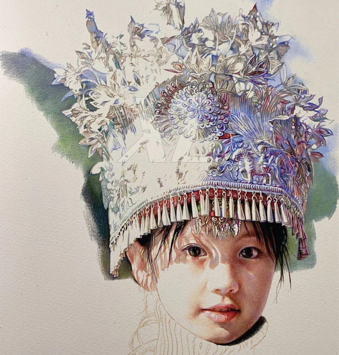 清华才子晒出他画中的小美女,惊艳了四方!插图22