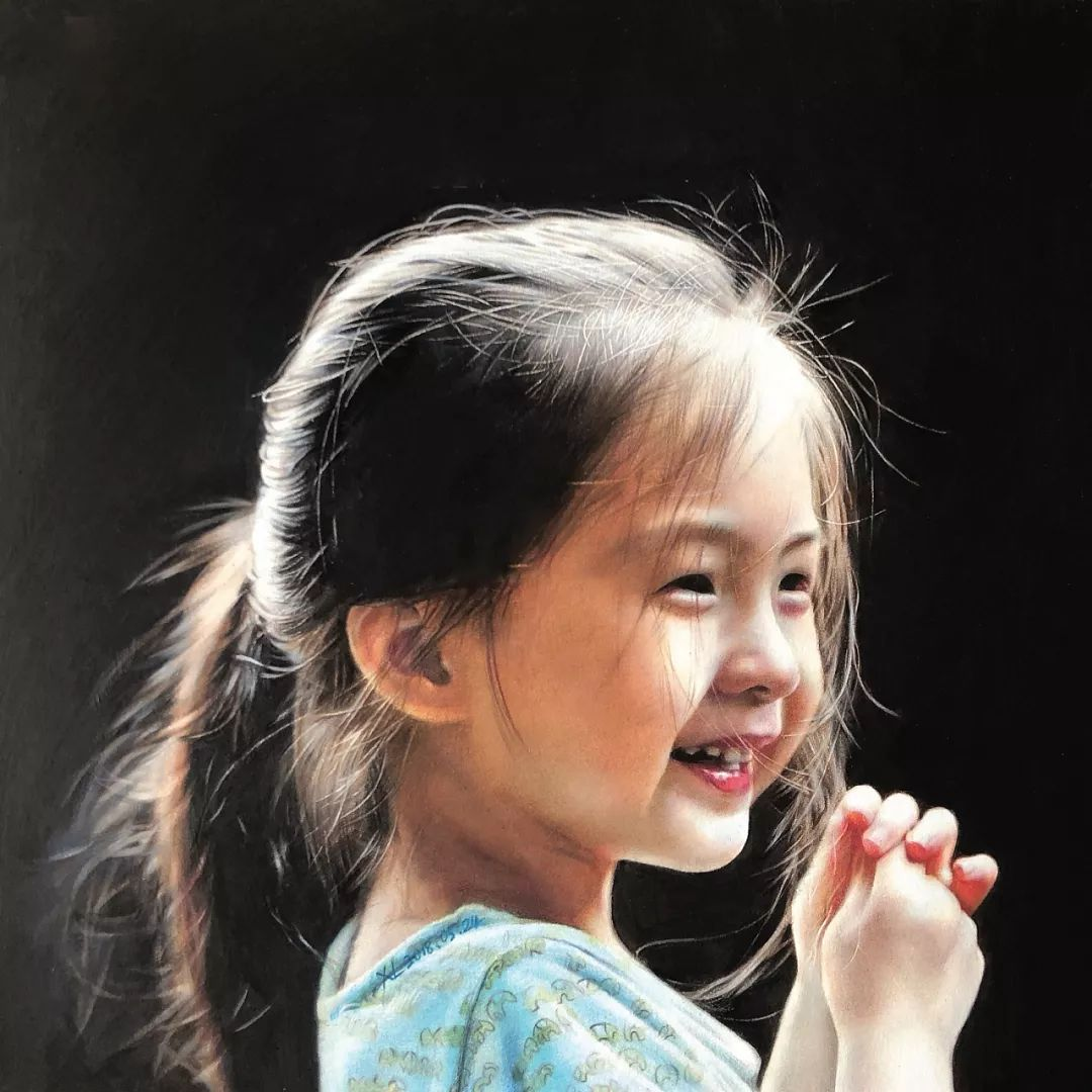清华才子晒出他画中的小美女,惊艳了四方!插图62