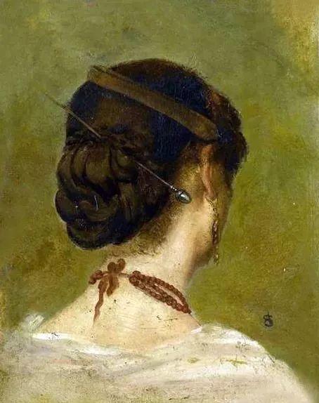 画中女子美丽优雅 个个身穿华丽有质感的服装插图3