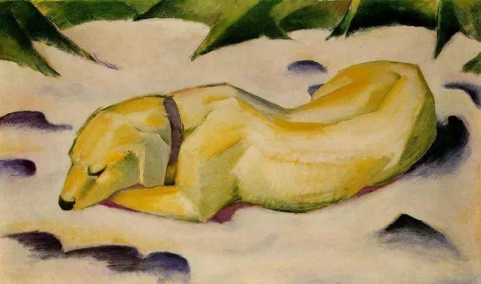 德国表现文画家弗朗兹·马克作品欣赏插图4