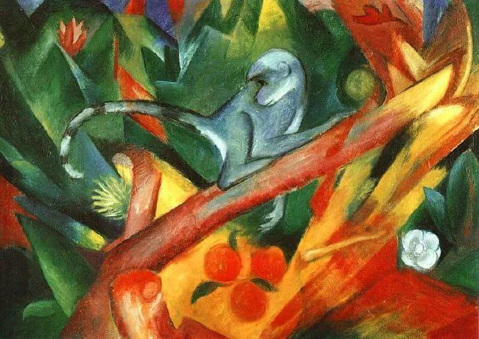 德国表现文画家弗朗兹·马克作品欣赏插图10