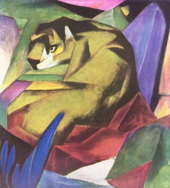 德国表现文画家弗朗兹·马克作品欣赏插图11
