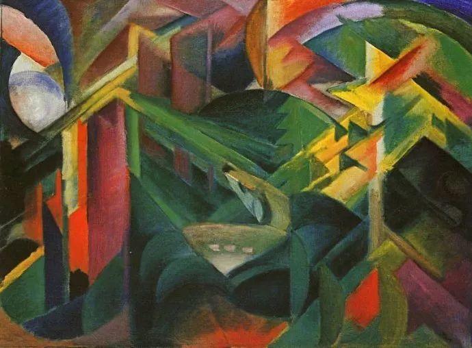 德国表现文画家弗朗兹·马克作品欣赏插图12