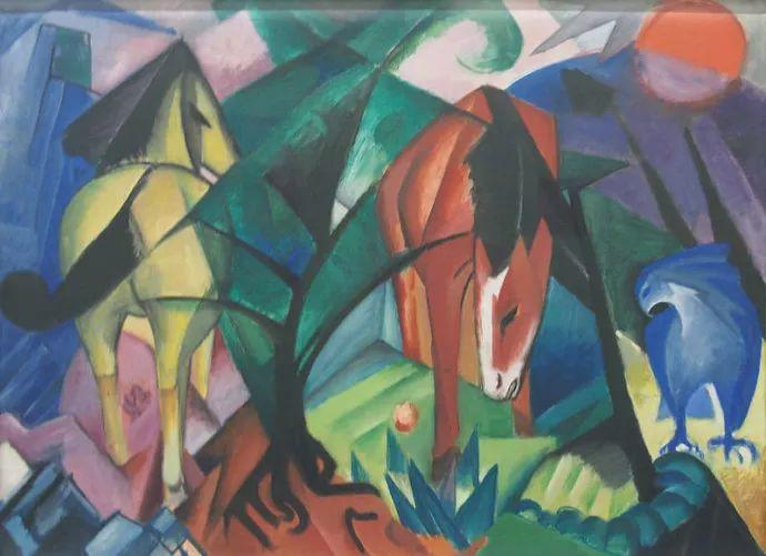 德国表现文画家弗朗兹·马克作品欣赏插图13