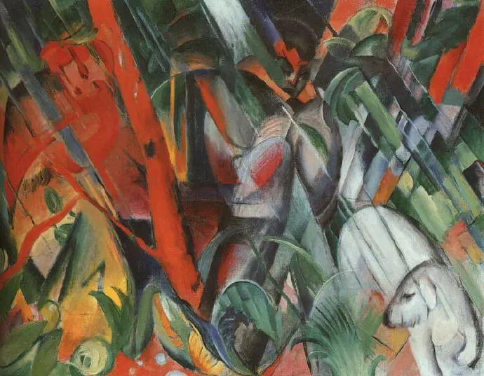 德国表现文画家弗朗兹·马克作品欣赏插图15