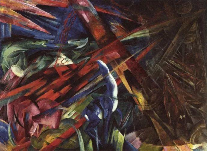 德国表现文画家弗朗兹·马克作品欣赏插图17