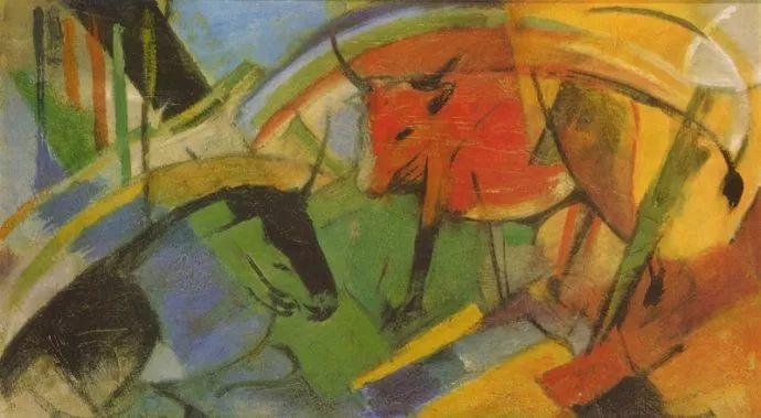 德国表现文画家弗朗兹·马克作品欣赏插图19