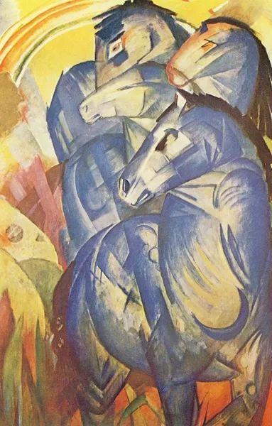 德国表现文画家弗朗兹·马克作品欣赏插图20