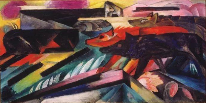 德国表现文画家弗朗兹·马克作品欣赏插图21