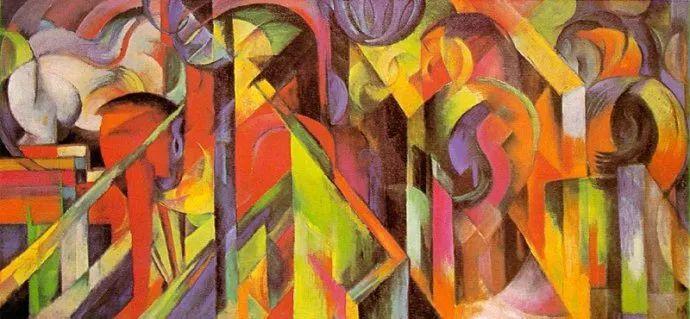 德国表现文画家弗朗兹·马克作品欣赏插图22