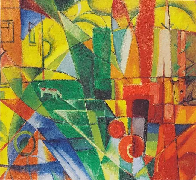 德国表现文画家弗朗兹·马克作品欣赏插图30