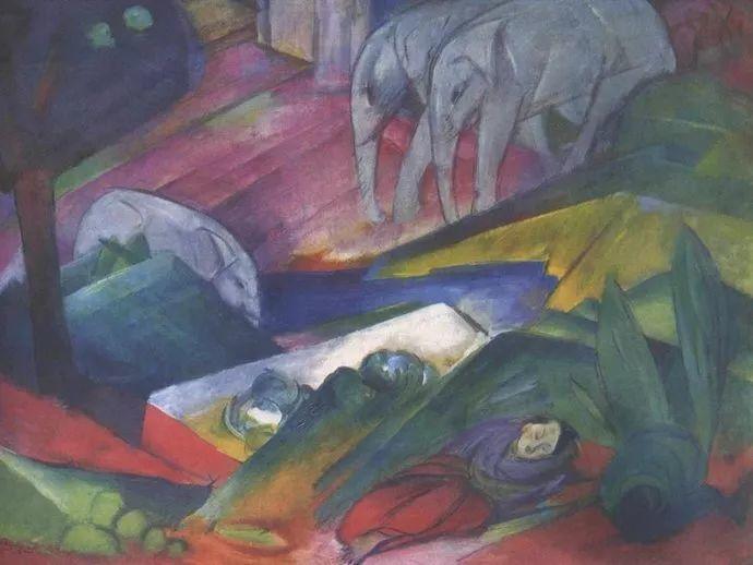 德国画家弗朗兹·马克插图35