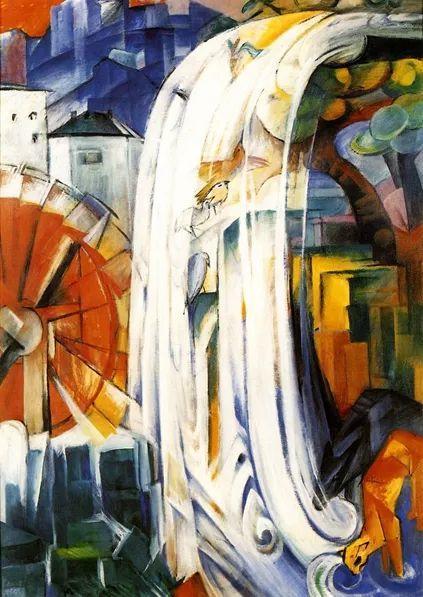 德国表现文画家弗朗兹·马克作品欣赏插图36