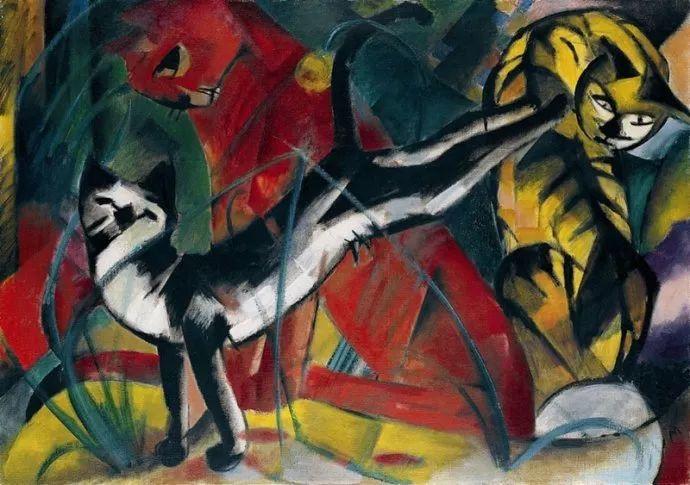 德国表现文画家弗朗兹·马克作品欣赏插图37