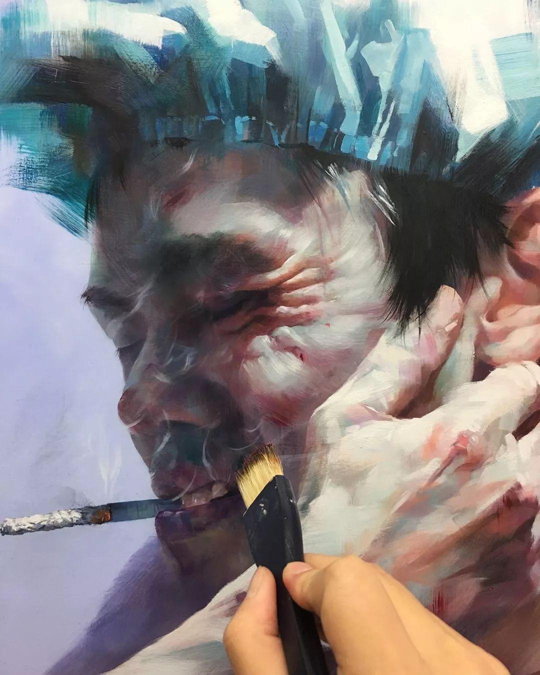 画笔留下的记忆,来自油画的魅力!插图9