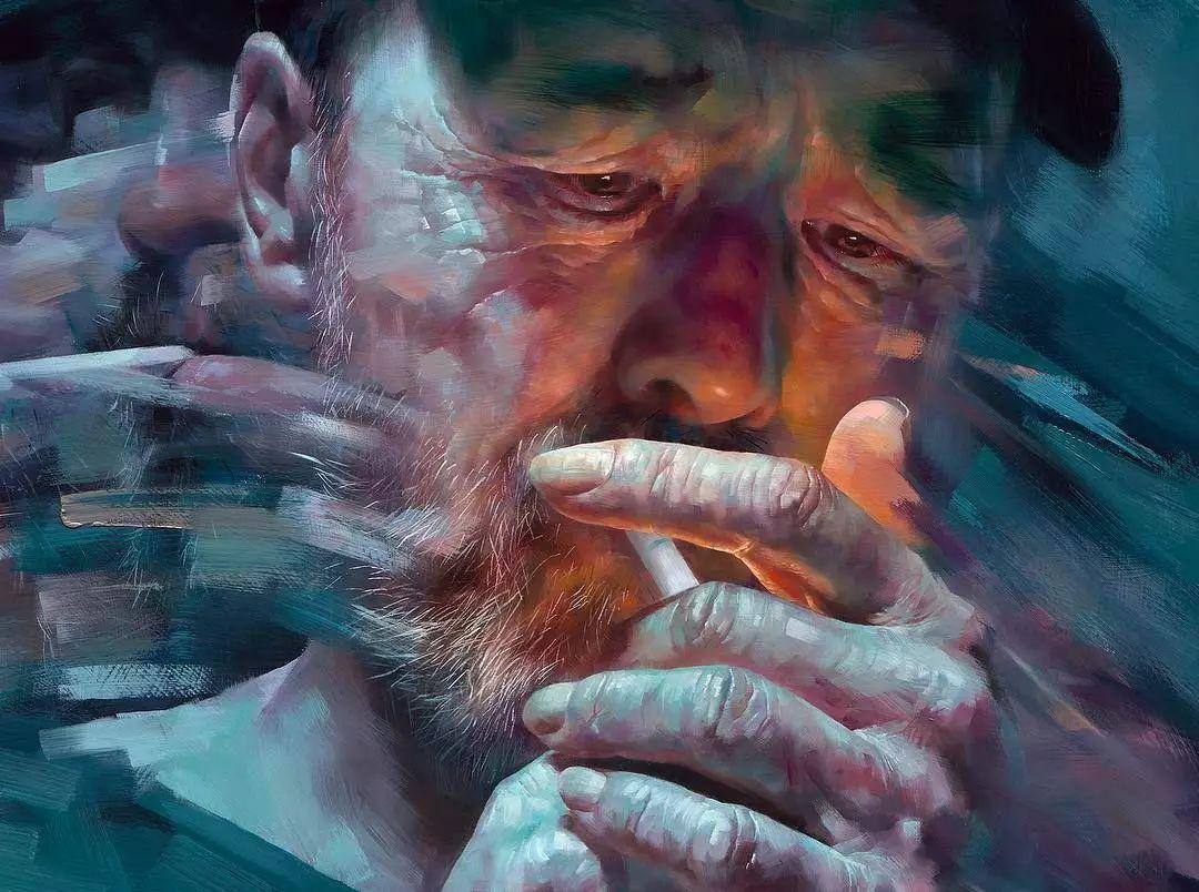 画笔留下的记忆,来自油画的魅力!插图17