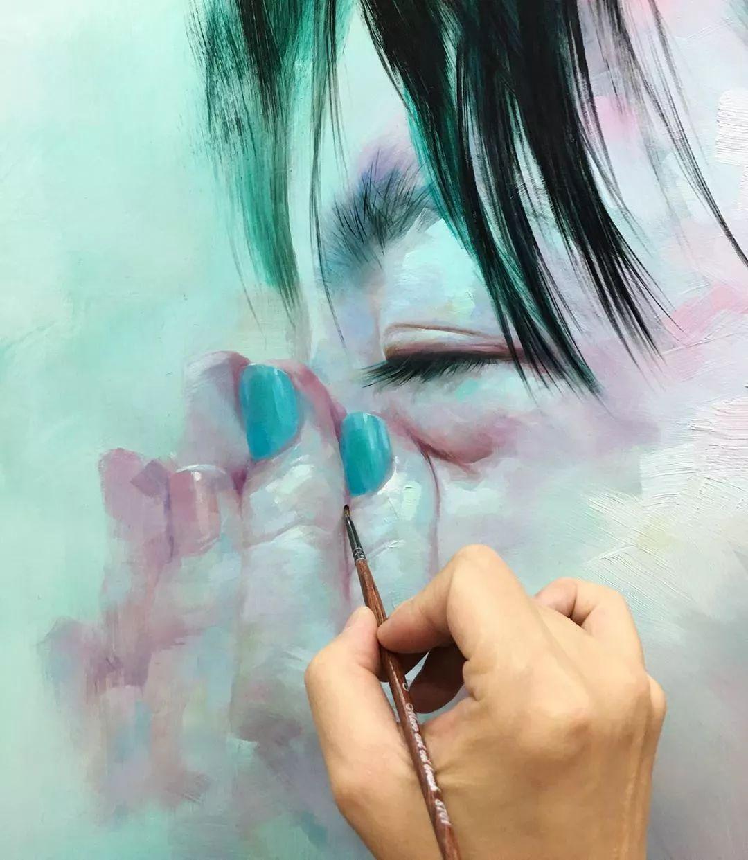 画笔留下的记忆,来自油画的魅力!插图41