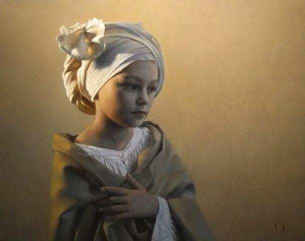 精美人物油画——美国艺术家David Gray插图7