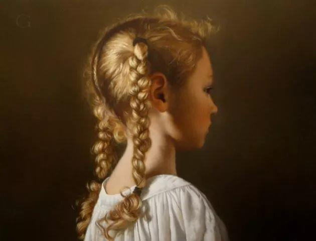 精美人物油画——美国艺术家David Gray插图13