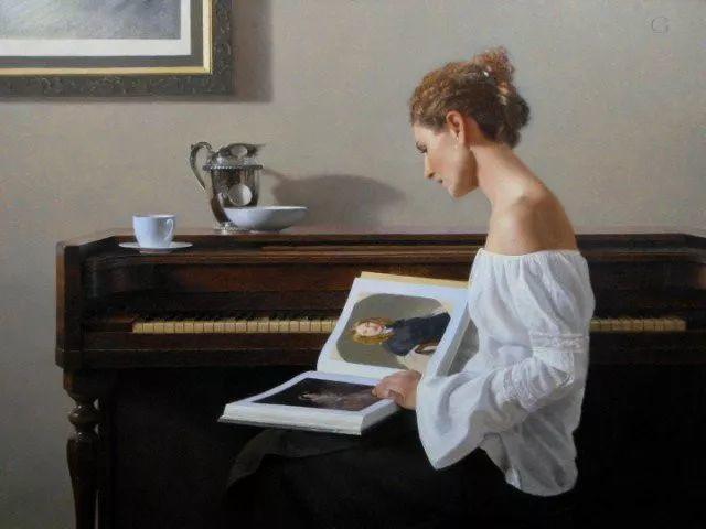 精美人物油画——美国艺术家David Gray插图15