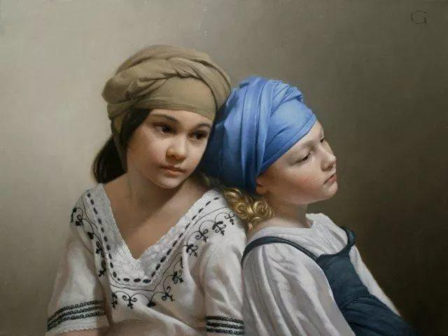 精美人物油画——美国艺术家David Gray插图25