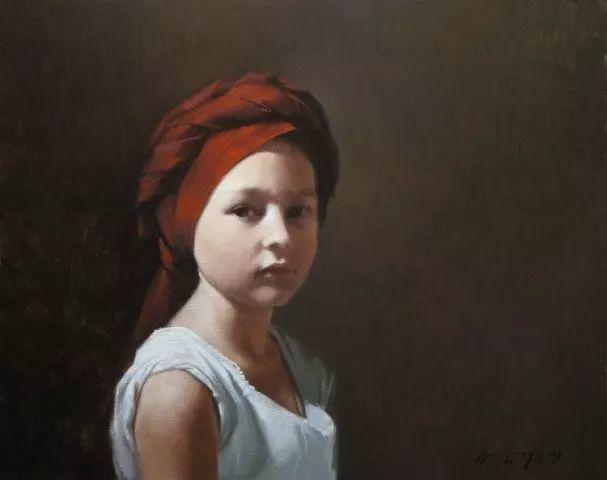精美人物油画——美国艺术家David Gray插图33