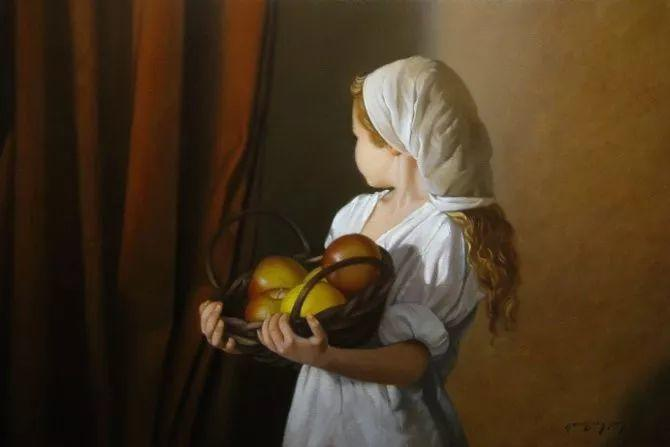 精美人物油画——美国艺术家David Gray插图37