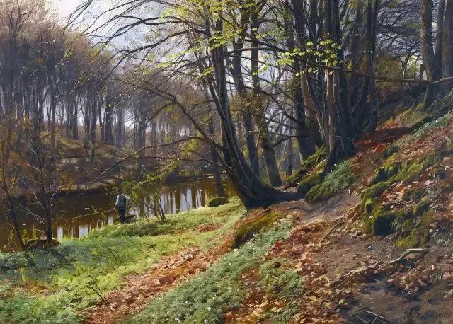 他的画描绘了一派祥和的田园风光,安静美好插图4