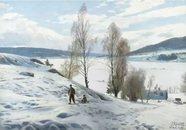 他的画描绘了一派祥和的田园风光,安静美好插图17