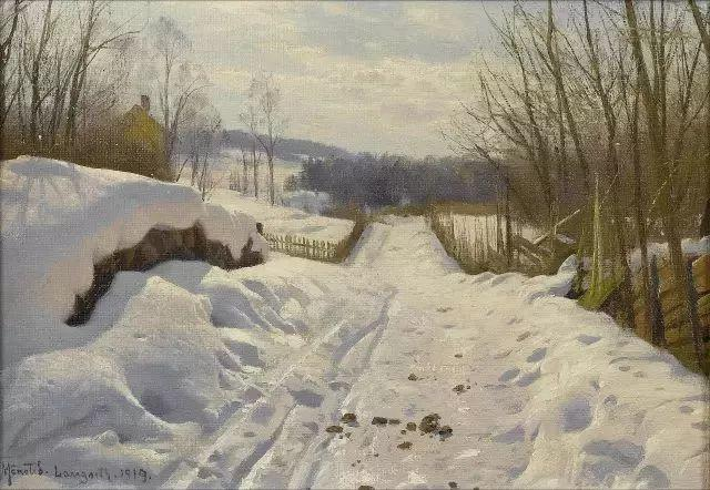 他的画描绘了一派祥和的田园风光,安静美好插图31